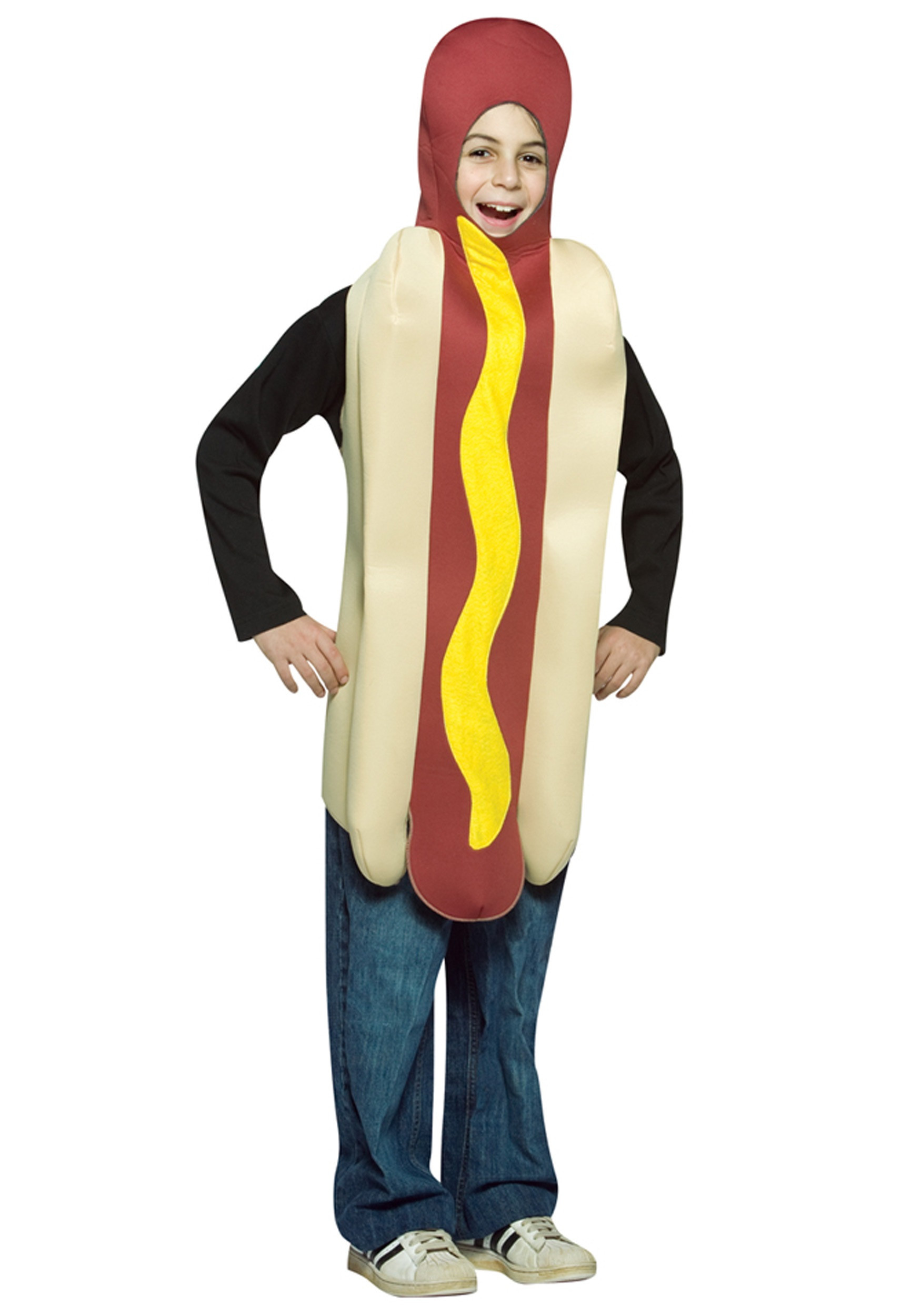 Hot Dog Halloween Costumes For Dogs  Kids Hot Dog Costume