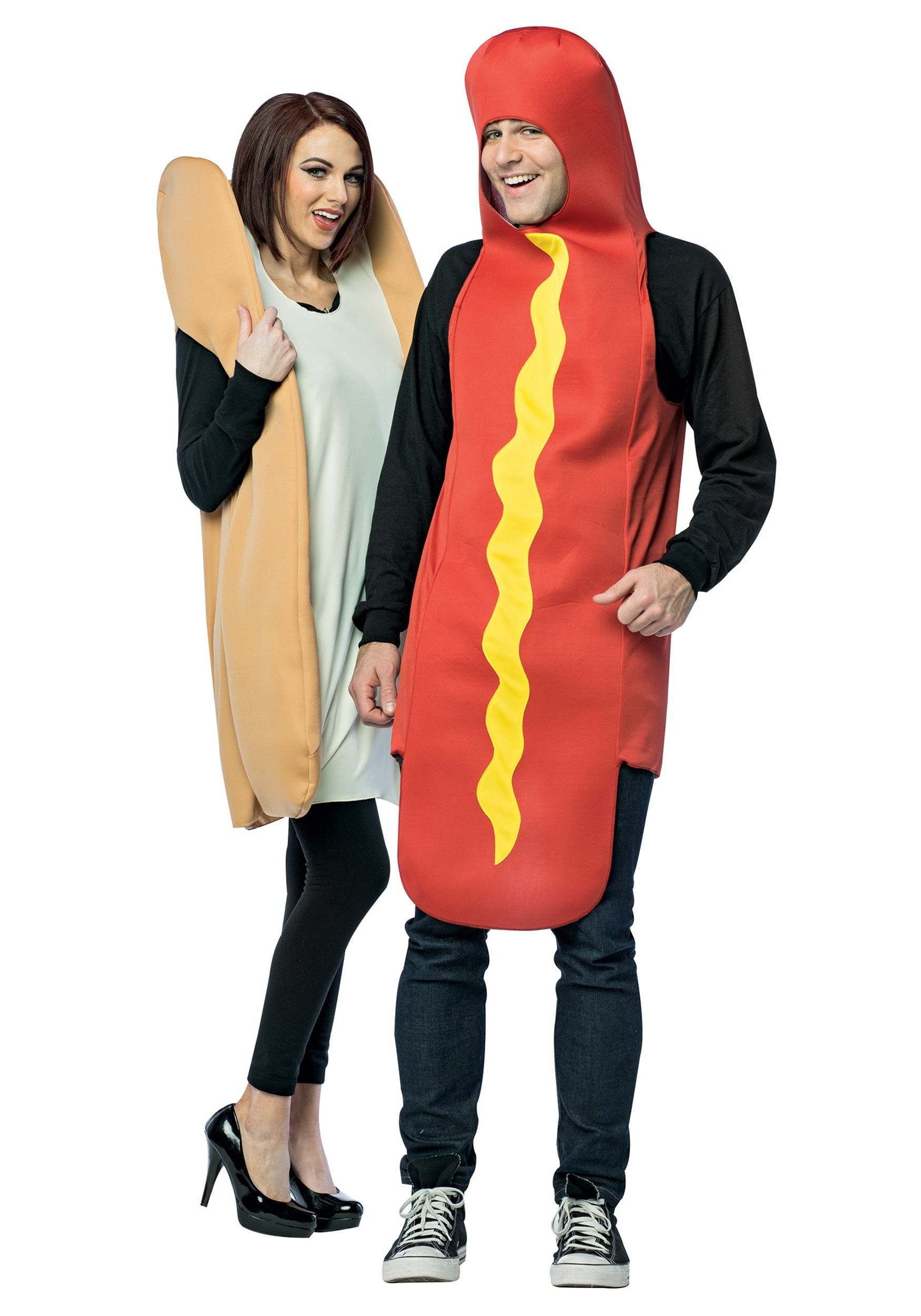 Hot Dog Halloween Costumes For Dogs  Hot Dog and Bun Costume