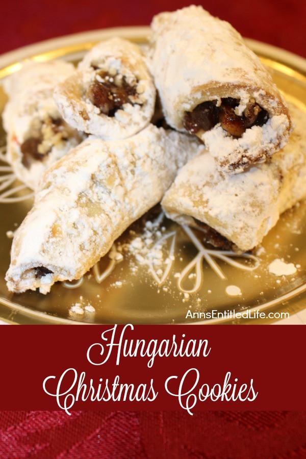 Hungarian Christmas Cookies  Hungarian Christmas Cookies Recipe