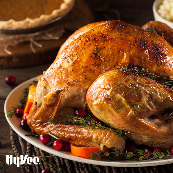 Hyvee Thanksgiving Dinner To Go  Herb Roasted Turkey Breast Recipe