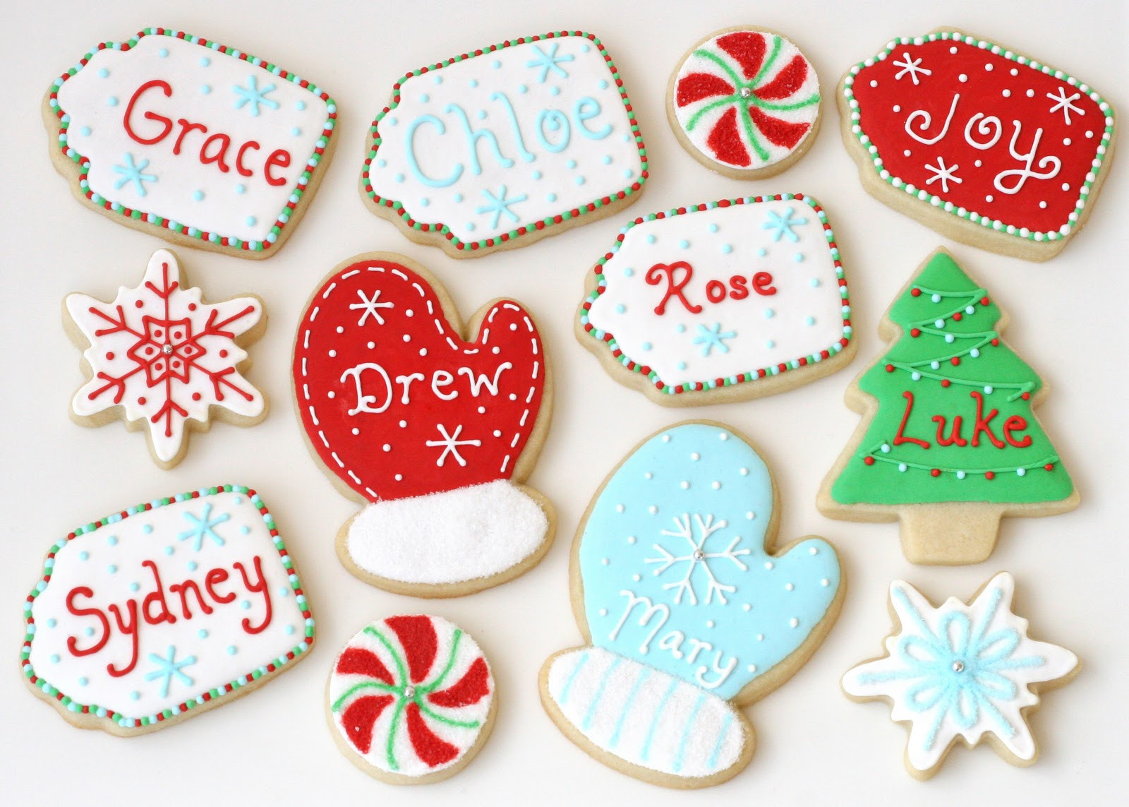 Iced Christmas Cookies  Christmas Cookies Galore Glorious Treats
