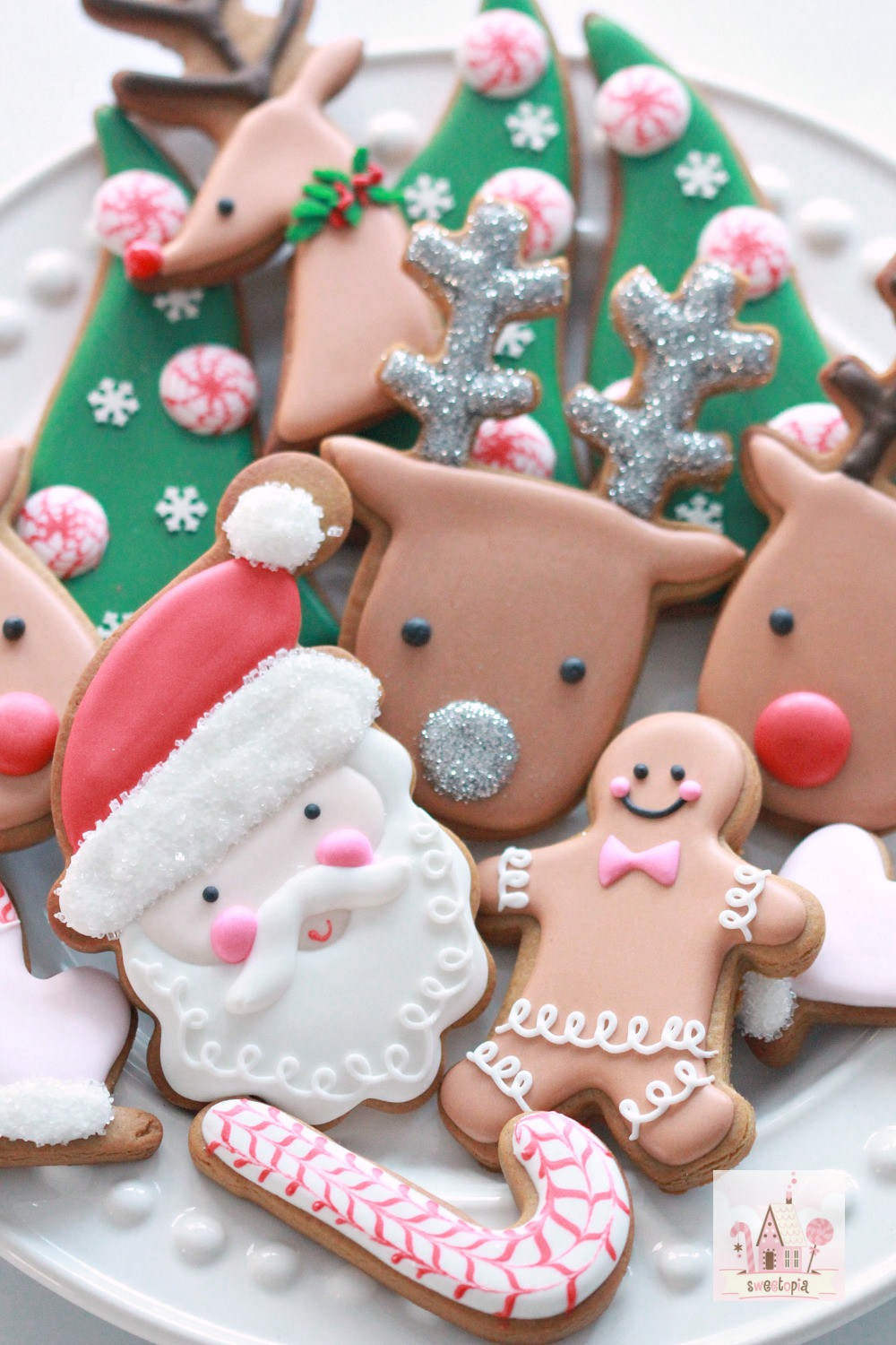 Icing For Christmas Cookies  Video How to Decorate Christmas Cookies Simple Designs