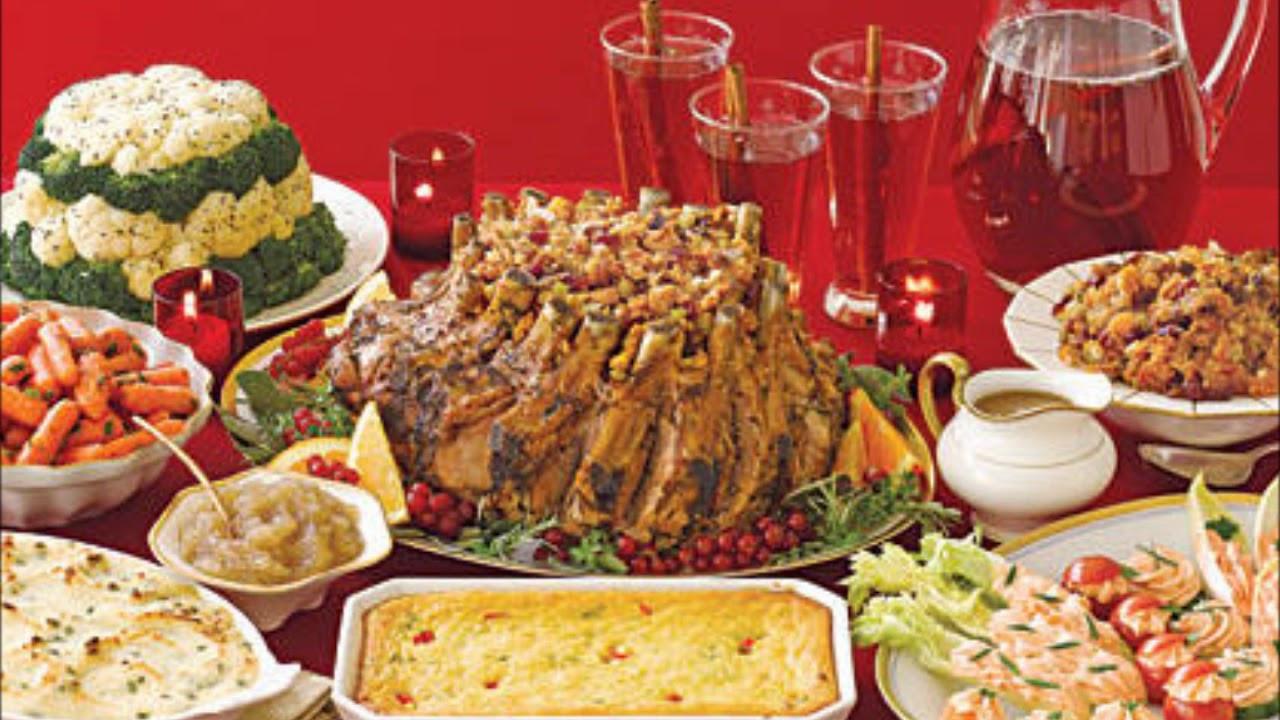 Ideas For Christmas Dinner  Yummy Christmas Dinner Ideas