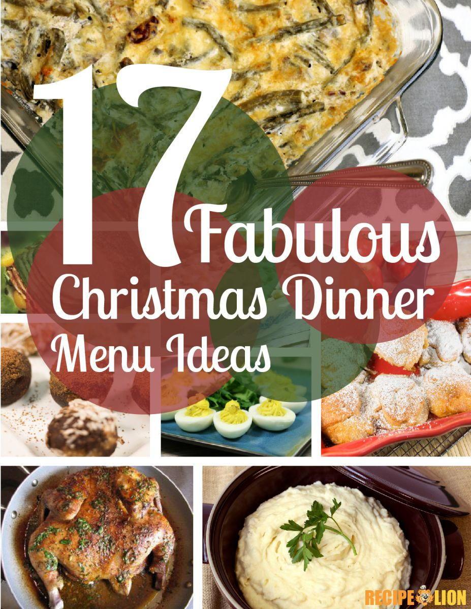 Ideas For Christmas Dinner  17 Fabulous Christmas Dinner Menu Ideas Free eCookbook