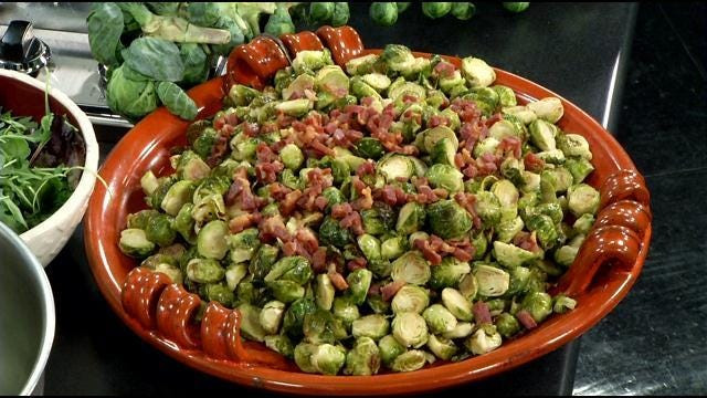 Ideas For Thanksgiving Dinner Side Dishes  Ideas for Thanksgiving side dishes & a twist on brussel