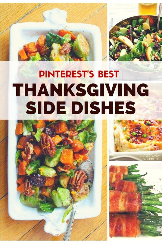 Ideas For Thanksgiving Dinner Side Dishes  Best 25 Best thanksgiving side dishes ideas on Pinterest