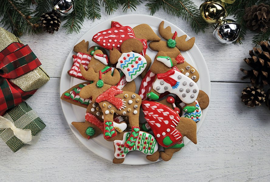 Image Of Christmas Cookies  Top 100 Holiday Cookies and Squares