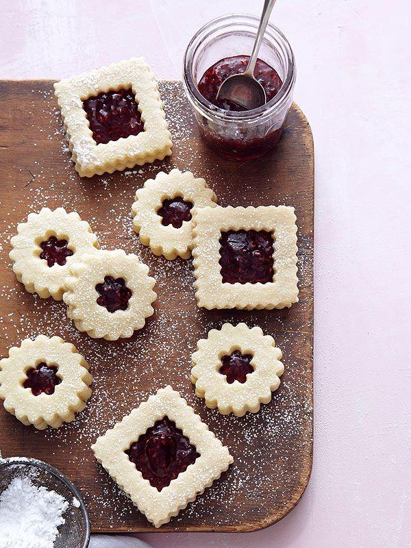 Ina Garten Christmas Cookies  Ina Garten s Linzer Cookies
