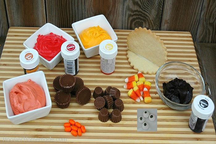 Ingredients For Thanksgiving Turkey  Thanksgiving Turkey Cookies Hoosier Homemade