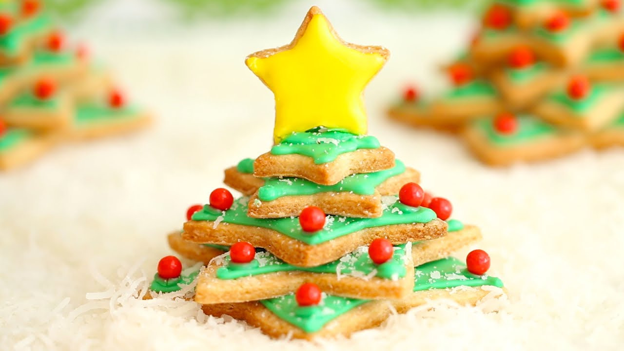 Irish Christmas Cookies  Irish Shortbread Christmas Tree Cookies Ultimate Cookie
