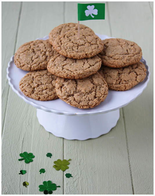 Irish Christmas Cookies  Irish Triple Threat Cookies