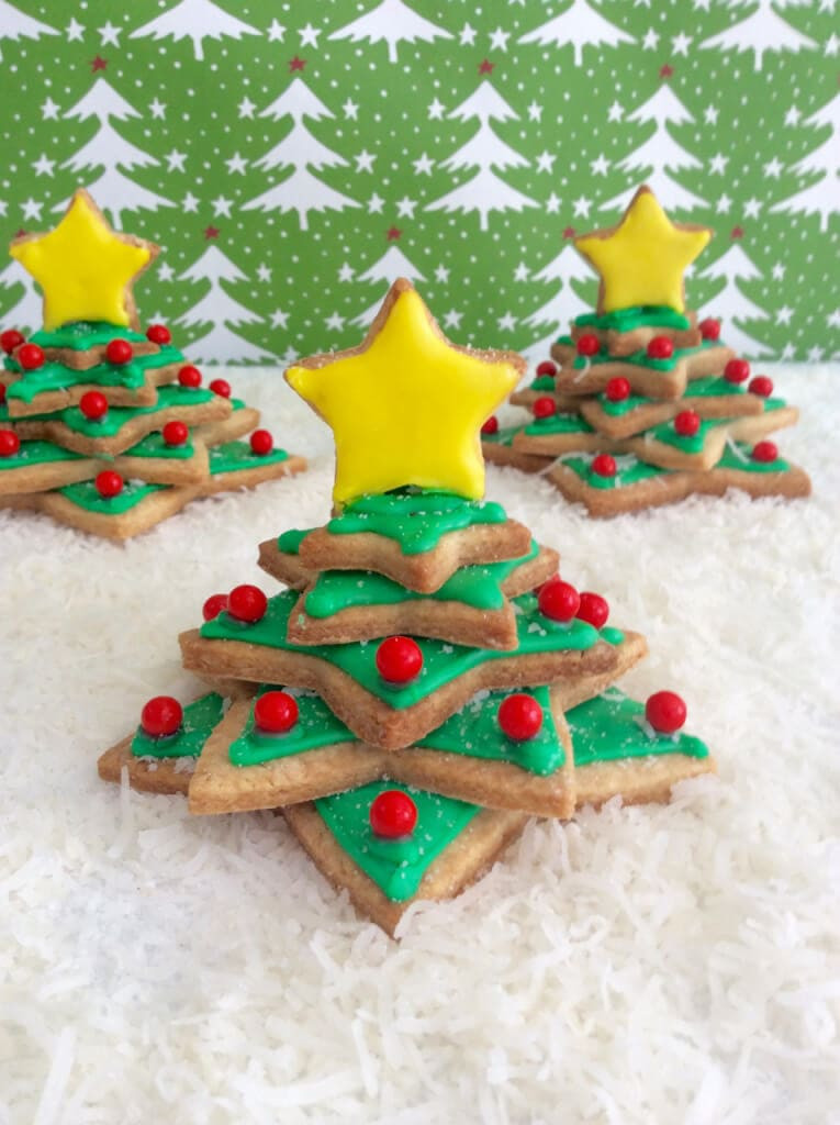 Irish Christmas Cookies  Irish Shortbread Christmas Tree Cookies Gemma's Bigger