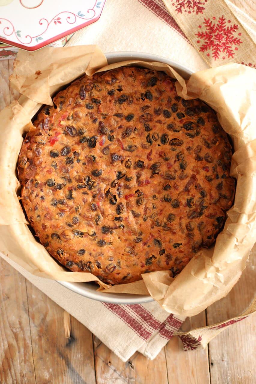 Irish Christmas Recipes  Aunty Rosaleen s Irish Christmas Cake Gemma's Bigger