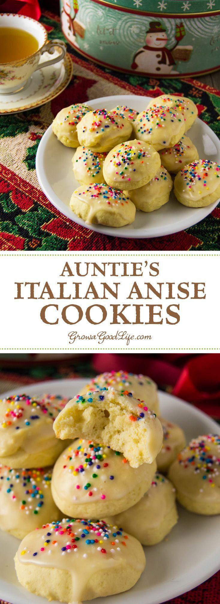 Italian Anise Christmas Cookies  1000 ideas about Anisette Cookies on Pinterest