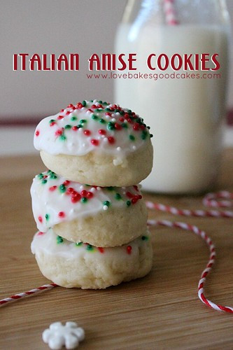 Italian Anise Christmas Cookies  Italian Anise Cookies Holiday Cookie Linky Party and a