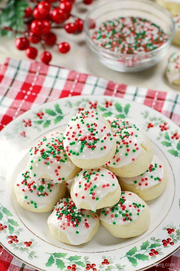 Italian Anise Christmas Cookies  Italian Anise Cookies Love Bakes Good Cakes