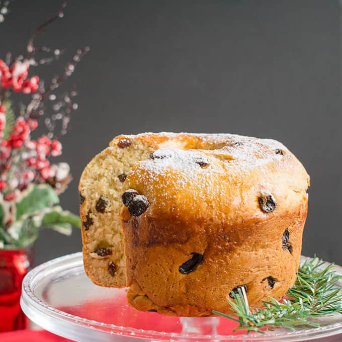 Italian Christmas Bread  Panettone Recipe Italian Christmas Bread