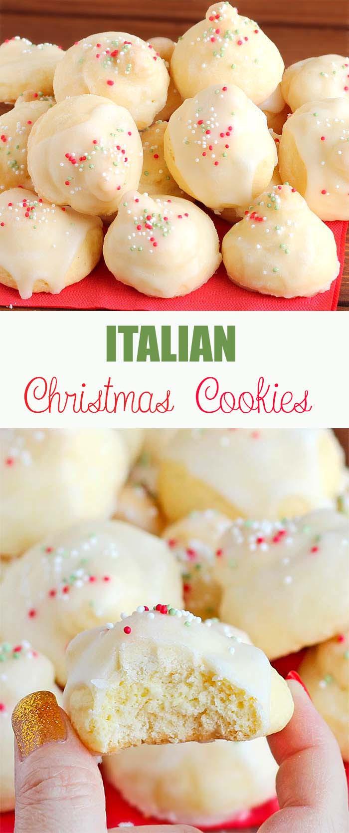 Italian Christmas Cookies  Italian Christmas Cookies Cakescottage