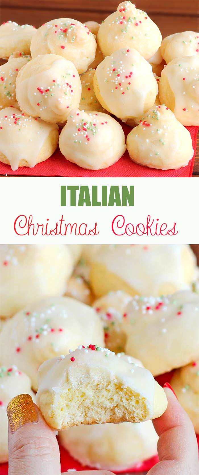 Italian Christmas Cookies Recipes With Pictures  Italian Christmas Cookies Cakescottage