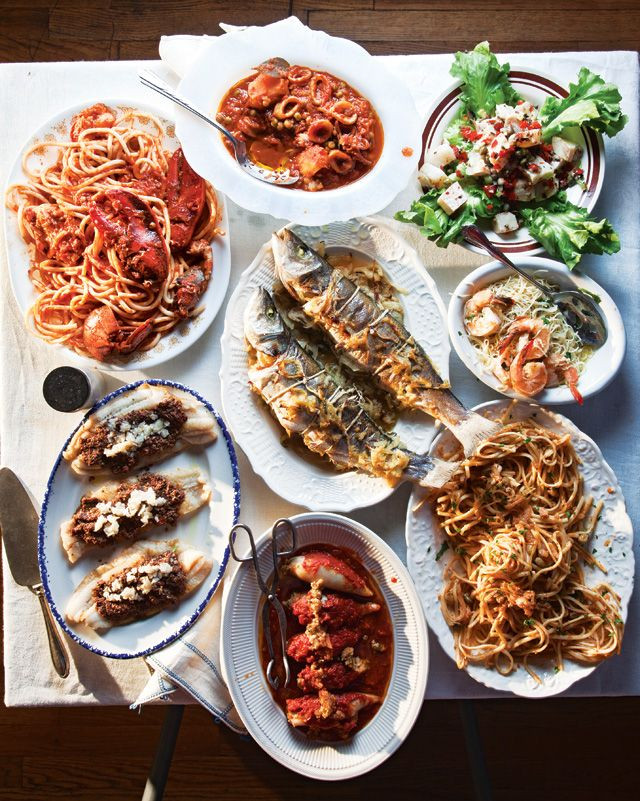 Italian Christmas Dinner Recipes  Menu A Feast of the Seven Fishes for Christmas Eve