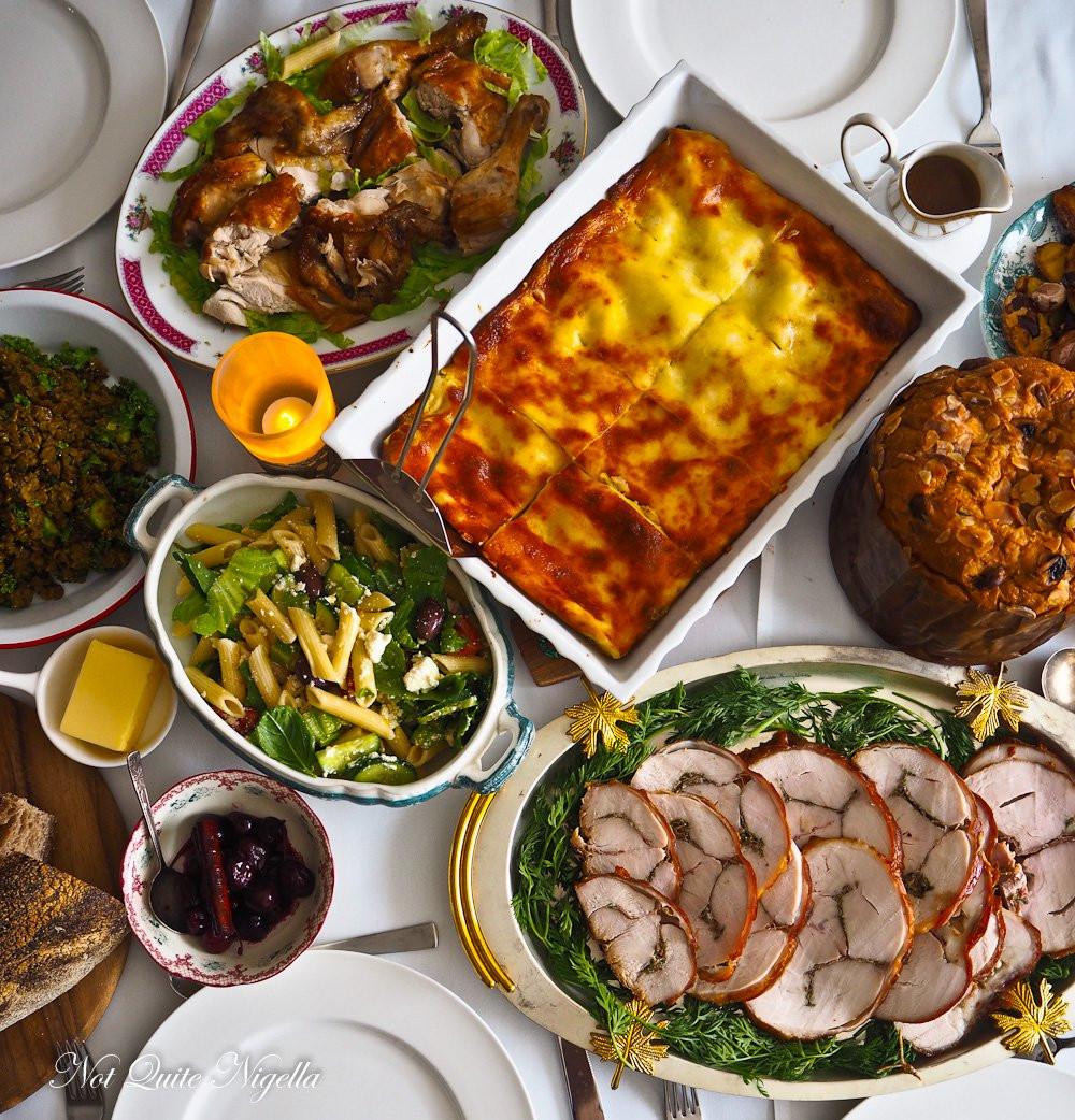 Italian Christmas Dinner Recipes  Italian Christmas Recipes Not Quite Nigella