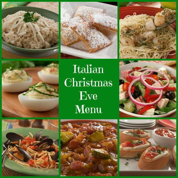 Italian Christmas Eve Appetizers  Italian Christmas Eve Menu