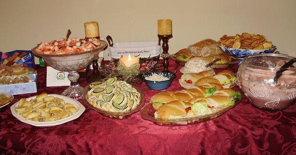 Italian Christmas Eve Appetizers  Christmas Eve Appetizer Buffet 2010