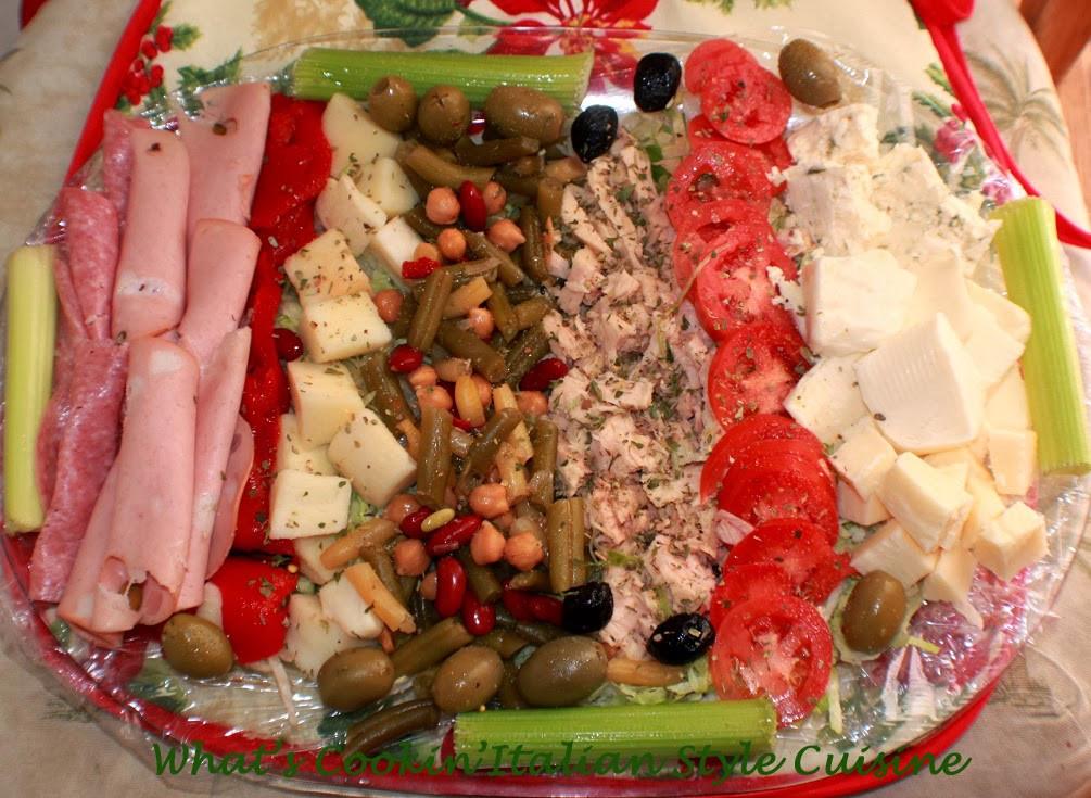 Italian Christmas Eve Recipes  Antipasto for Christmas Day Recipe Italiano