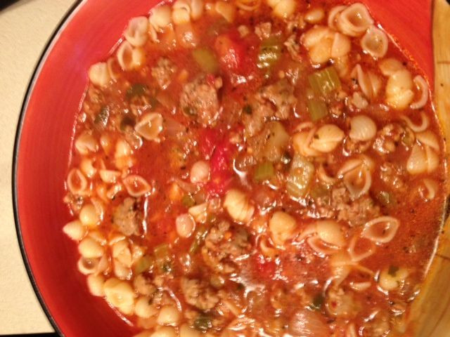 Italian Christmas Eve Recipes  Italian Sausage Soup want to try this during Christmas