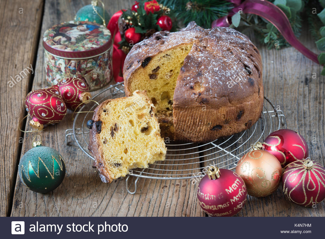 Italian Sweet Bread Loaf Made For Christmas  Italy Christmas Stock s & Italy Christmas Stock