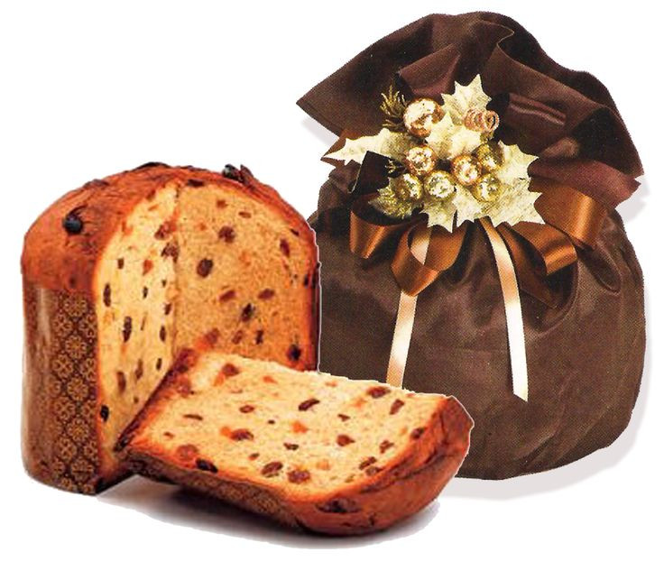 Italian Sweet Bread Loaf Made For Christmas  Panettone pronounced ˌpænəˈtoʊni Italian [panetˈtoːne