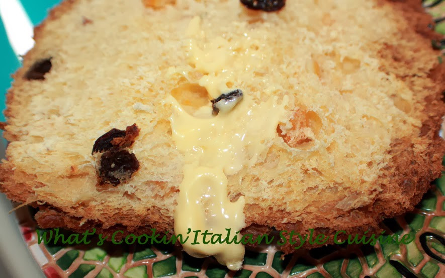 Italian Sweet Bread Loaf Made For Christmas  Homemade Italian Panettone Bread Recipe