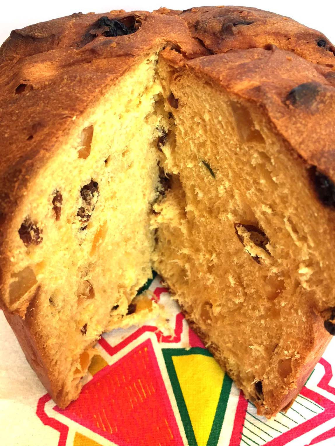Italian Sweet Bread Loaf Made For Christmas  Italian Panettone Bread Fruit Cake Recipe – Melanie Cooks