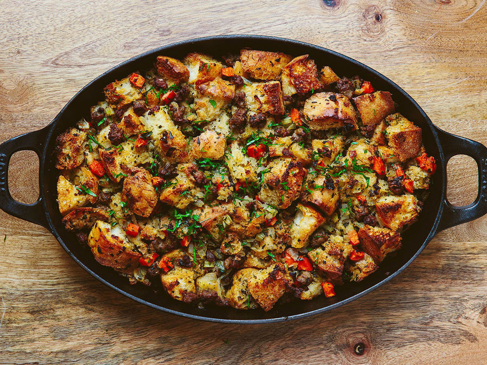 Italian Thanksgiving Recipes  15 Stuffing Recipes That ll Make You Ditch the Boxed Stuff