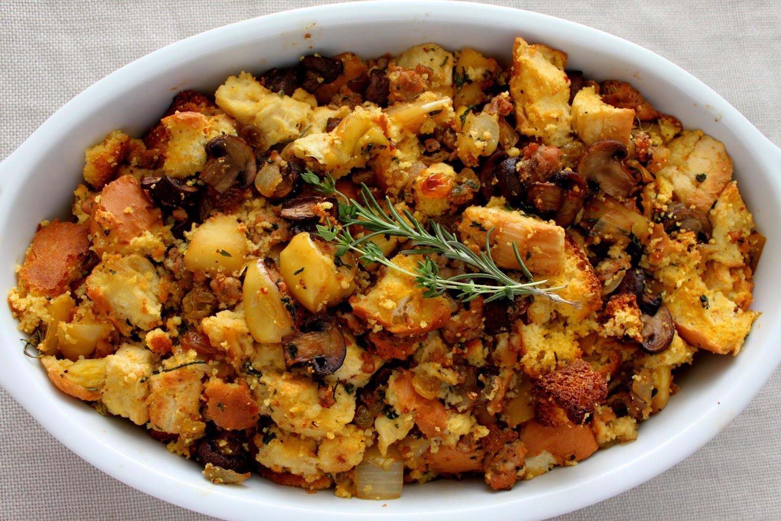 Italian Thanksgiving Recipes  A Bountiful Kitchen Artisan Cornbread Stuffing with