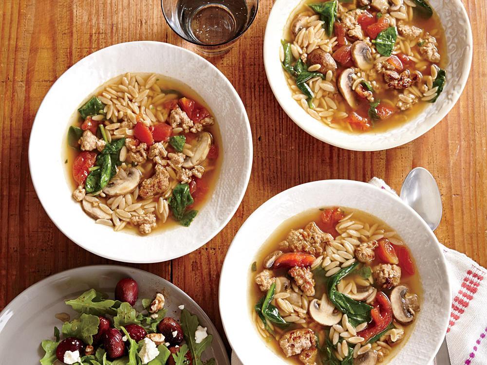 Italian Thanksgiving Recipes  Orzo Recipes Cooking Light