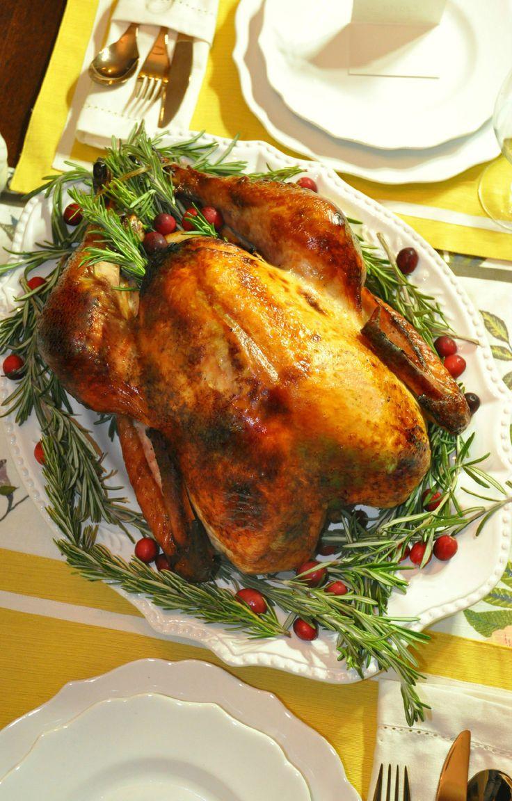 Italian Thanksgiving Recipes  Delicious moist Thanksgiving turkey brined with Wish Bone