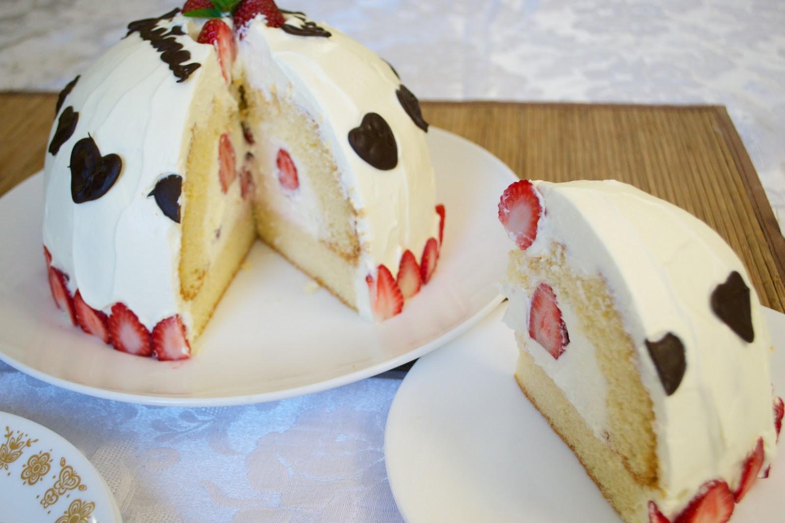 Japan Christmas Cake Recipe  Japanese Christmas Cake