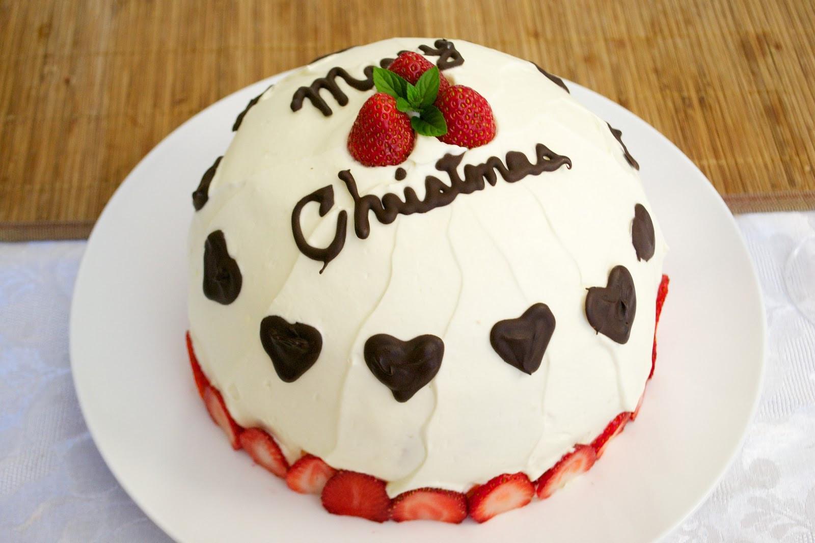 Japan Christmas Cake Recipe  little japan mama Japanese Christmas Cake