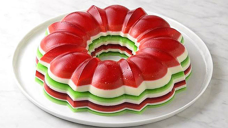 Jello Salads For Christmas  Christmas Jello Salad Ring recipe from Tablespoon