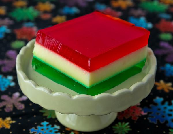 Jello Salads For Christmas  Christmas Ribbon Salad The Culinary Cellar