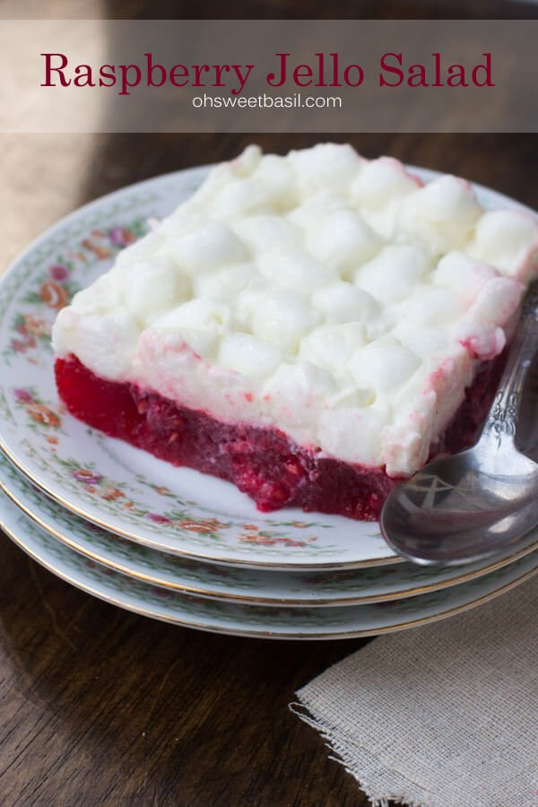 Jello Salads For Thanksgiving Dinner  The best Raspberry jello fluff recipe Oh sweet basil