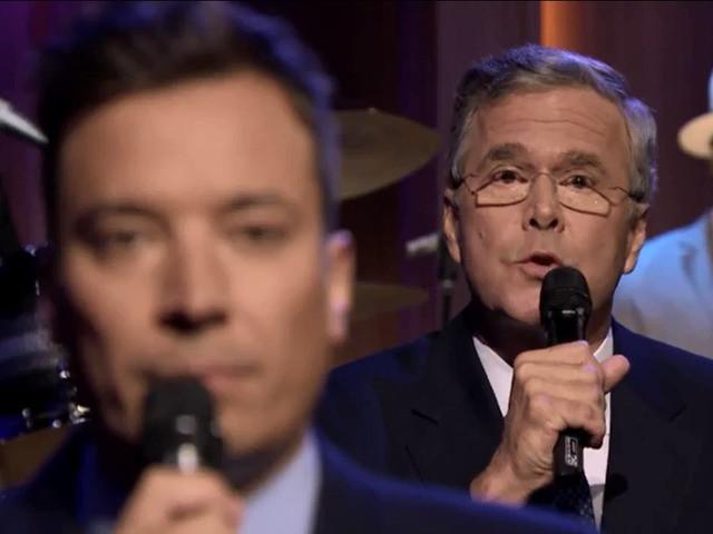 Jimmy Fallon Jeb Bush Guacamole  Jeb Bush Slow Jams The News The Tonight Show [VIDEO