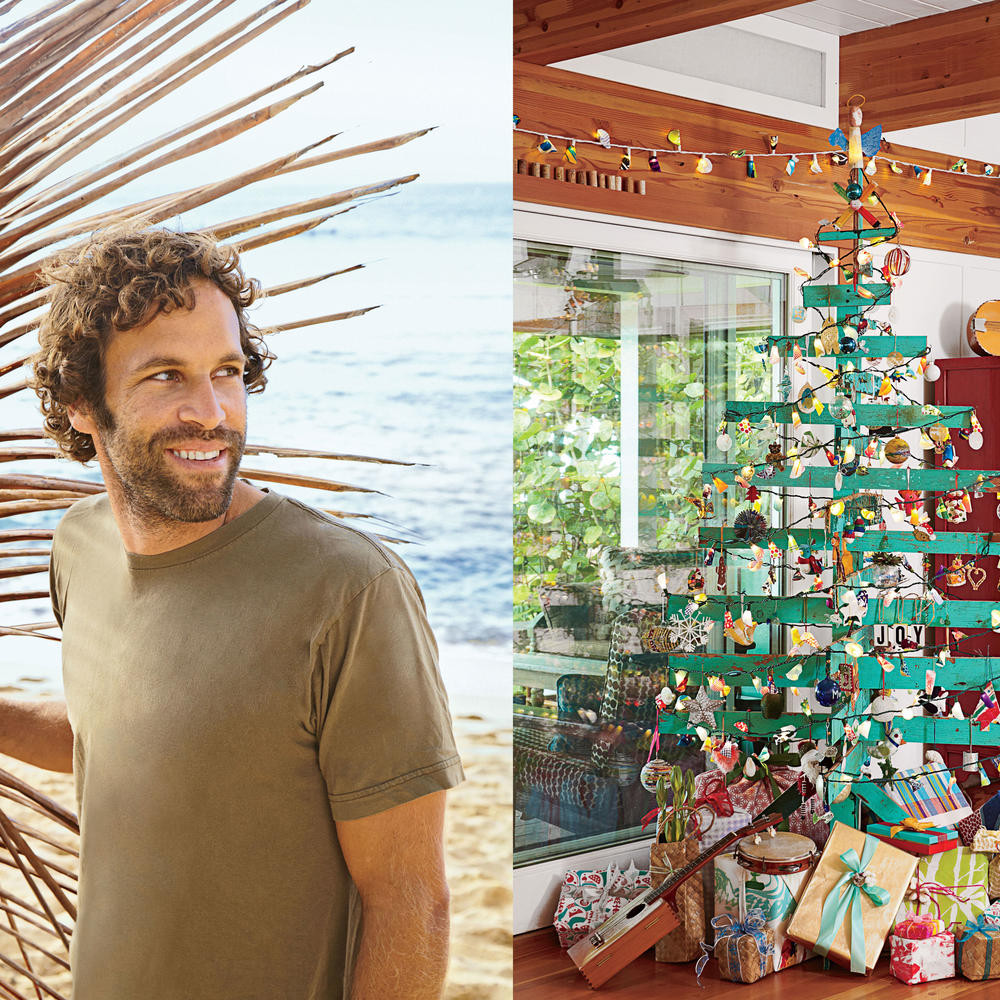 Johnson Family Christmas Dinner  Get Beachy Holiday Inspiration from Jack Johnson's