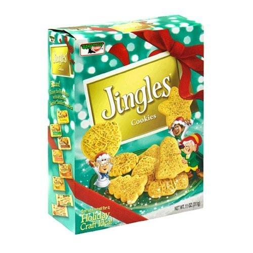 Keebler Christmas Cookies  Keebler Jingles Cookies 11 Ounce Boxes Pack of 4 by