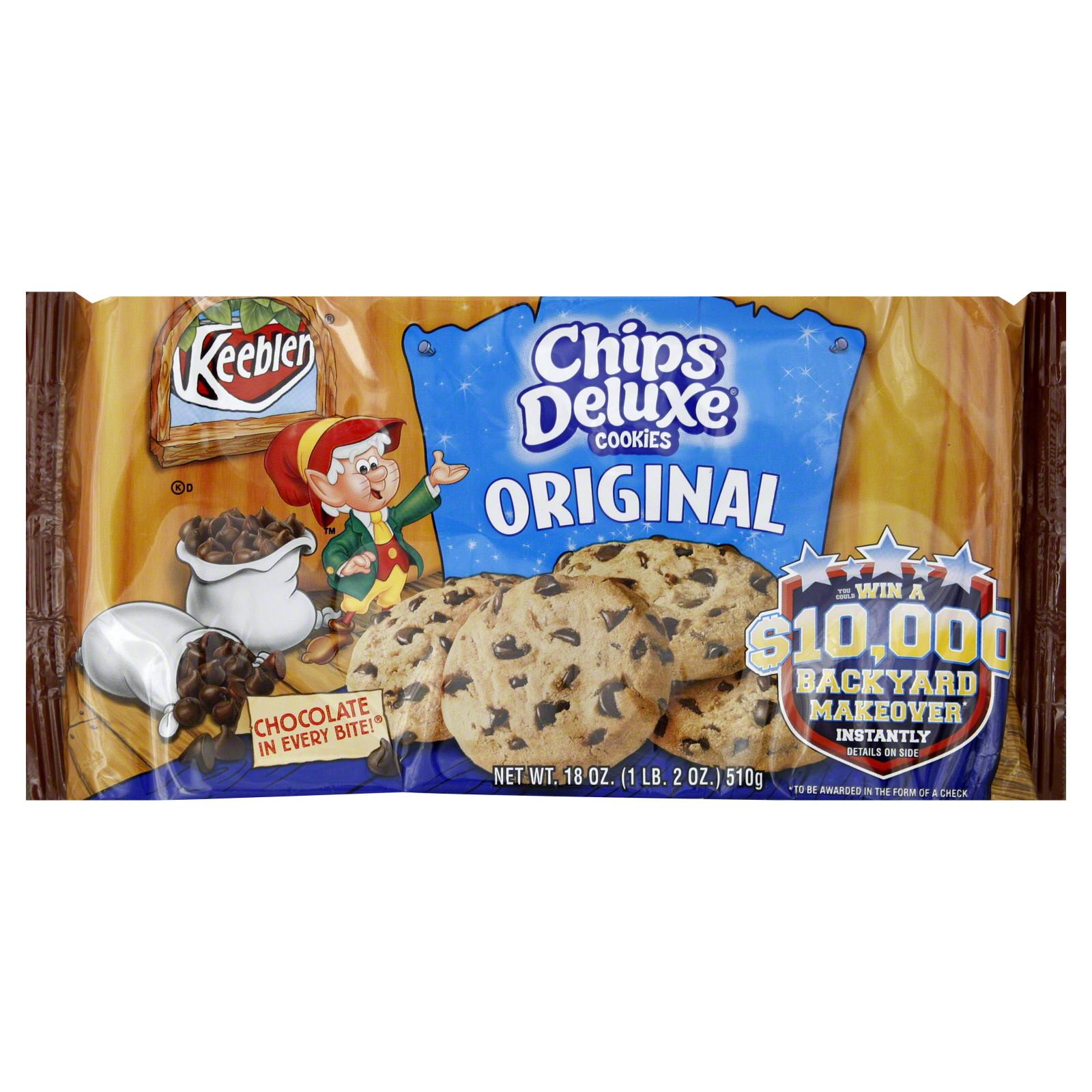 Keebler Christmas Cookies  Keebler Chips Deluxe Cookies Original 18 oz 1 lb 2 oz