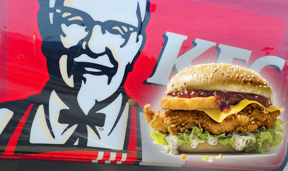Kfc Thanksgiving Turkey  KFC launches first ever Christmas burger Ditch turkey
