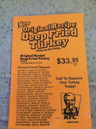 Kfc Thanksgiving Turkey  GrubGrade