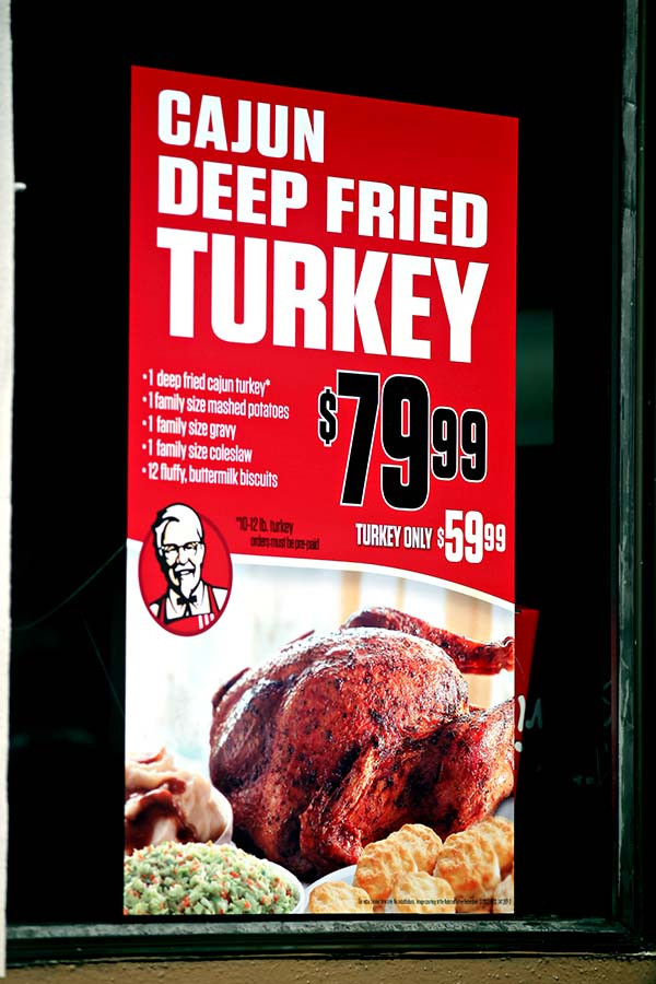 Kfc Thanksgiving Turkey  kentucky fried chicken San Francisco Citizen