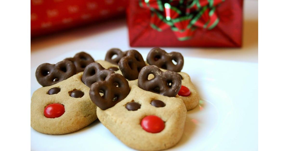 Kid Friendly Christmas Cookies  Peanut Butter Reindeer Cookies